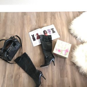 Come Haan Nike Air Black heeled Boots